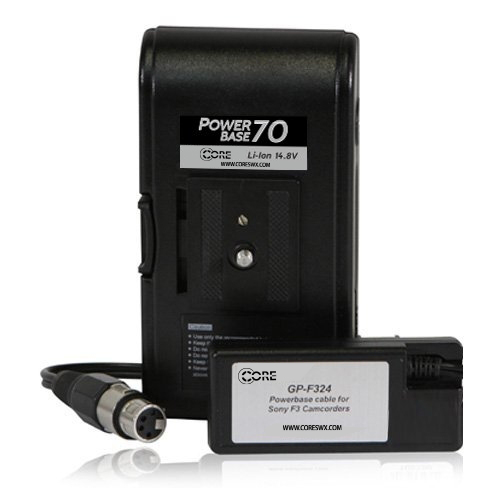 """PB70 for Sony F3 camcorders; 24"""" cable"""
